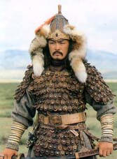 a comparison between genghis khan and alexandre the great Oh, this is kind of random, but there's a book about a war between alexander the great and genghis khan the reason they're fighting is some weird scifi thing, but its not a bad book in it alexander won, go alexander.